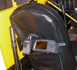 Jack Schaul's GPS and radio mount