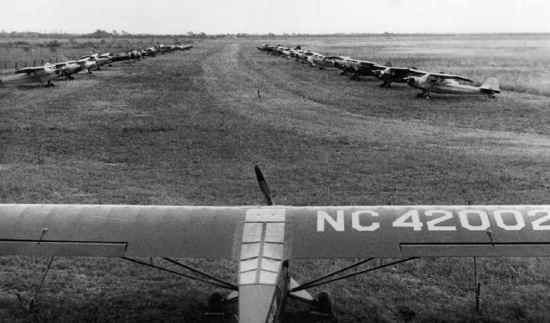 Fly-in at San Benito in 1946
